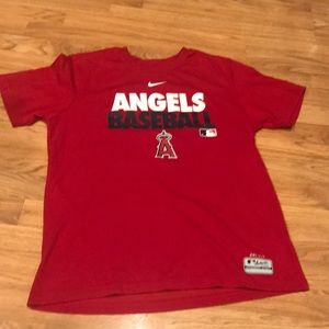 Nike Angels Baseball Dri Fit t-shirt large